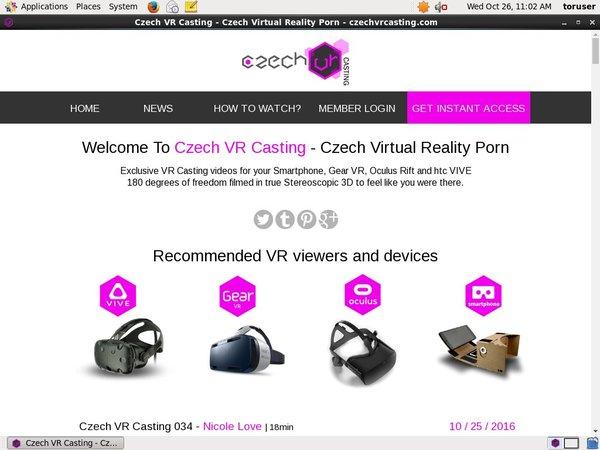 Czech VR Casting Free User