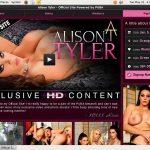 Free Watch Alison Tyler