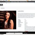 Lauren Wood Limited Promotion