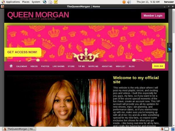 Thequeenmorgan.net Free Password