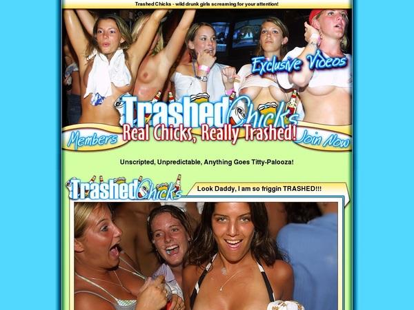Trashedchicks.com Premium Account Login
