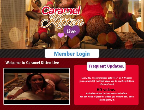 Caramelkittenlive.com New Accounts