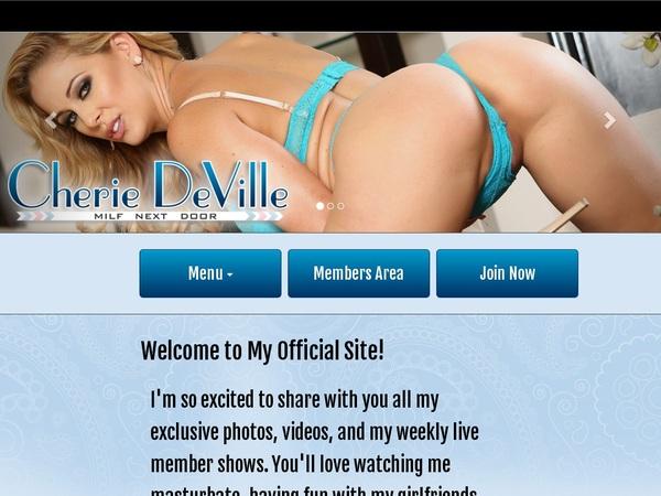 Cherie DeVille Free Trial Acc