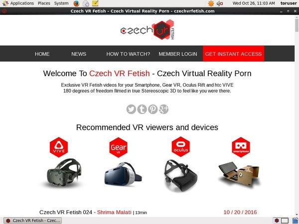 Czechvrfetish.com Limited Promotion